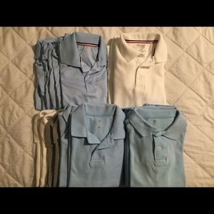 20/$40 French Toast Polos, M (8)
